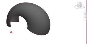 In Dynamo generierte Schale, die in Autodesk Revit 2016 dargestellt wird