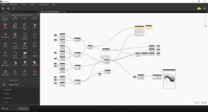 Visuelle Programmierung - Dynamoskript zur Erstellung einer Schale