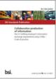 Kollaboratives produzieren von Informationen zur Erfüllung der Auftraggeber Informations Anforderungen mit COBie