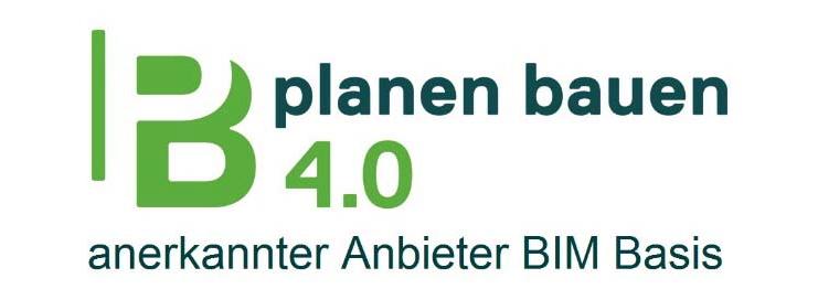 Planen Bauen 4.0 anerkannte BIM Basis Ausbildung BIM Schulung BIM Schulungsangebote